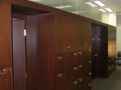 Demountable Storage Wall
