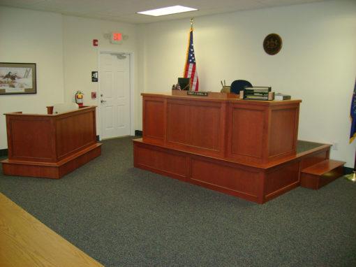 Judge Stand