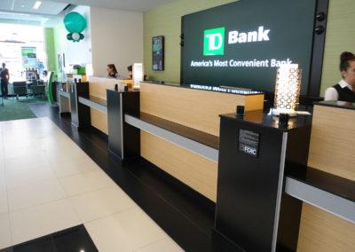 teller line for bank