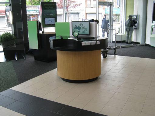 Bank Check Desk