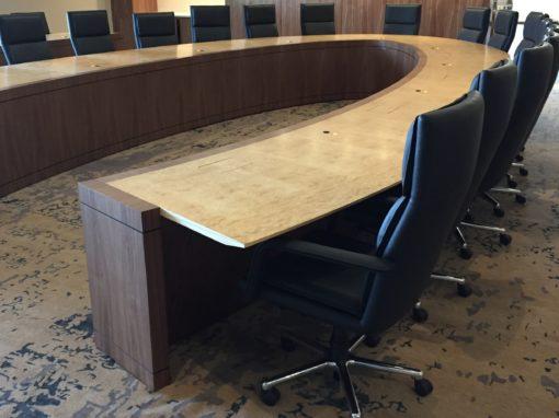 Horseshoe Ellipse Conference Table