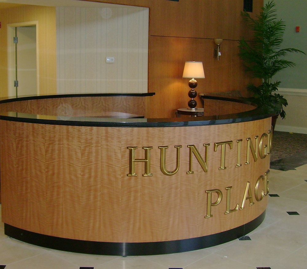 Round Anigre Desk