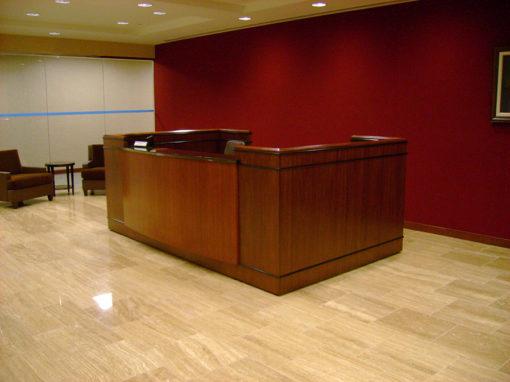 Sapele Mahogany Desk