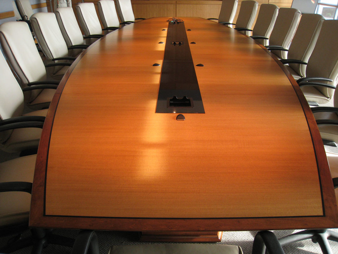 Anigre Conference Table